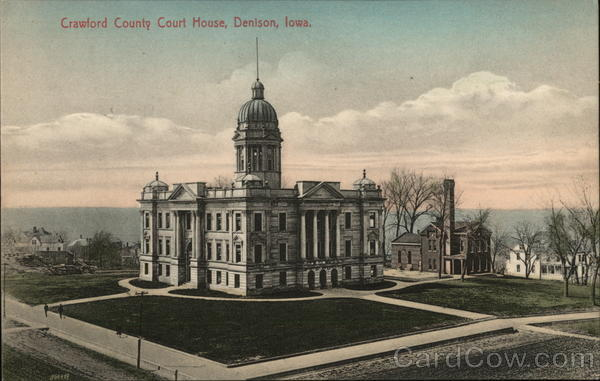 Crawford County Court House Denison Iowa