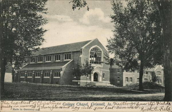 College Chapel Grinnell Iowa