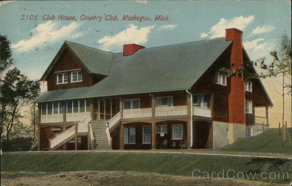 5105 Club House, Country Club Muskegon Michigan