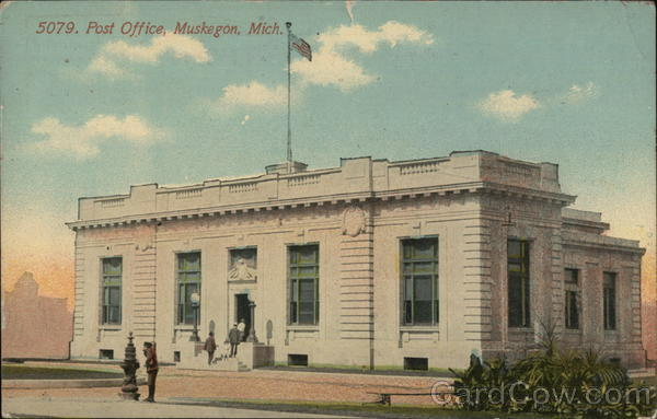 Post Office Muskegon Michigan