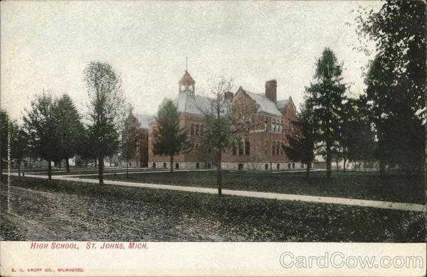 High School St. Johns Michigan