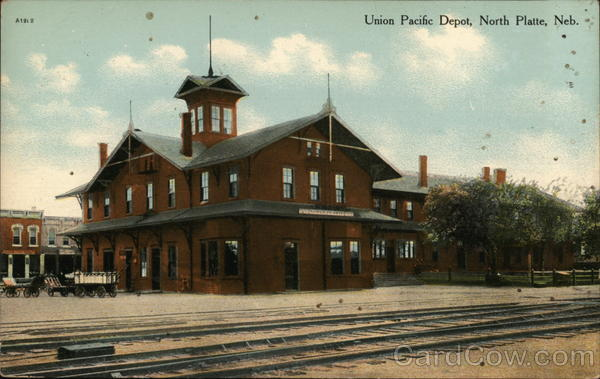 Union Pacific Depot North Platte Nebraska