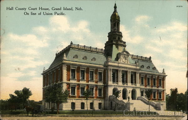 Hall County Court House Grand Island Nebraska