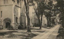 Mc Cosh Hall and Walk, Princeton University