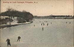 Skating on Loch Carnegie