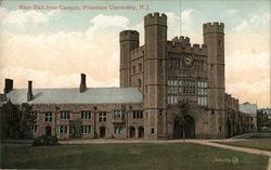 Blair Hall from Campus, Princeton University
