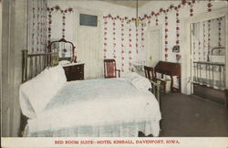 Bed Room-Hotel Kimball