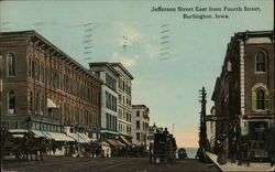 Jefferson Street East from Fourth Street