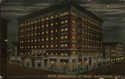 Hotel Burlington At Night