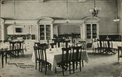 Dining Room, Cleveland Hotel