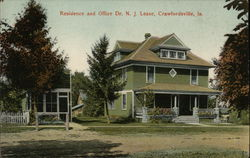 Residence and Office Dr. N. J. Lease