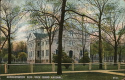Administration Building, Rock Island Arsenal