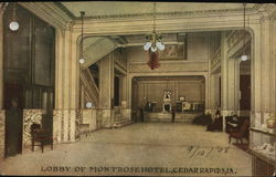 Lobby of Montrose Hotel