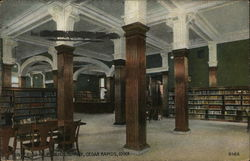 Interior of Public Library