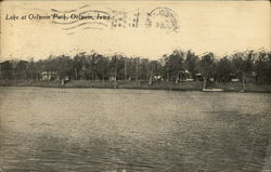Lake at Oelwein Park