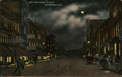 East Main Street At Night