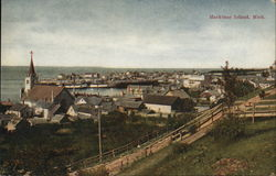 View of Mackinac Island