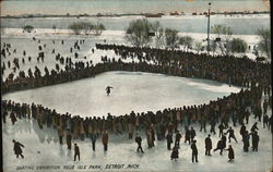 Skating Exhibition, Belle Isle Park