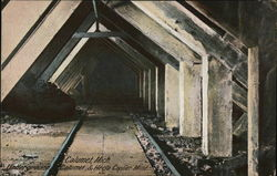 Underground Calumet & Hecla Copper Mine