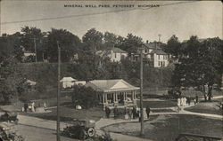Mineral Well Park Postcard
