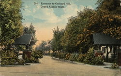 Entrance to Orchard Hill