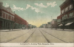 Ludington Street, Looking West