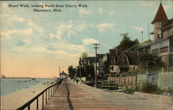 Board Walk, looking North from Cherry Walk Postcard