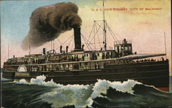 "D.& C. Co's Steamer ""City of Mackinac"""