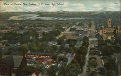 View Looking N.E. from High School