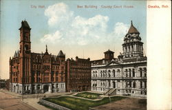 City Hall, Bee Building, County Court House
