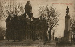Washington County Court House Postcard