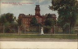 Original Main Building, Nebraska State University