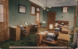 Stenographic Department, Head Consul's Office. M.W. Of A.