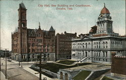 City Hall, Bee Building and Courthouse