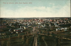 View from Capitol, 1875