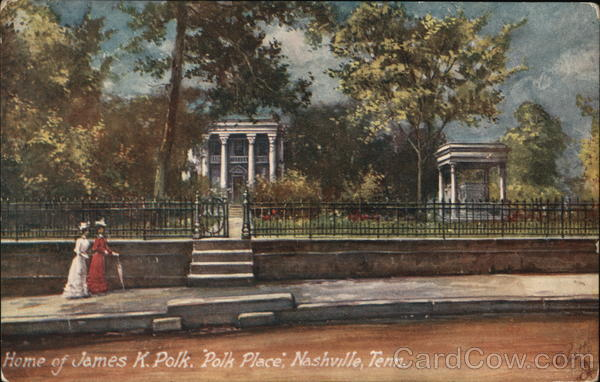Polk Place, Home of James K. Polk Nashville Tennessee