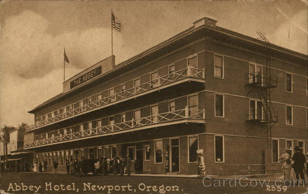 Abbey Hotel Newport Oregon