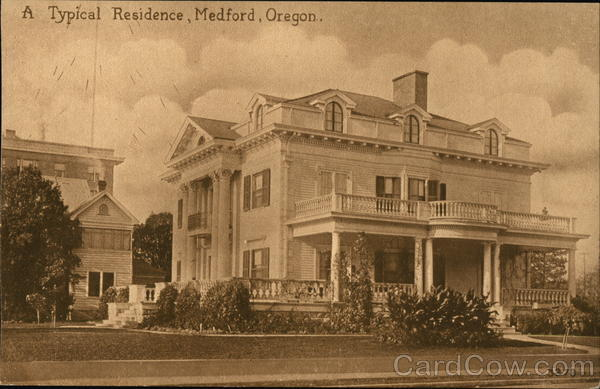 A Typical Residence Medford Oregon
