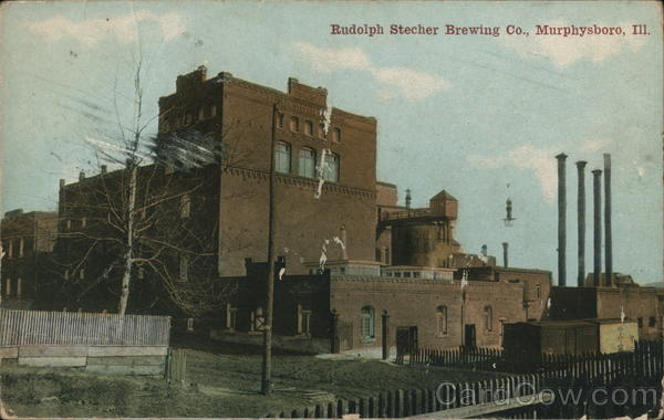 Rudolph Stecher Brewing Co. Murphysboro Illinois