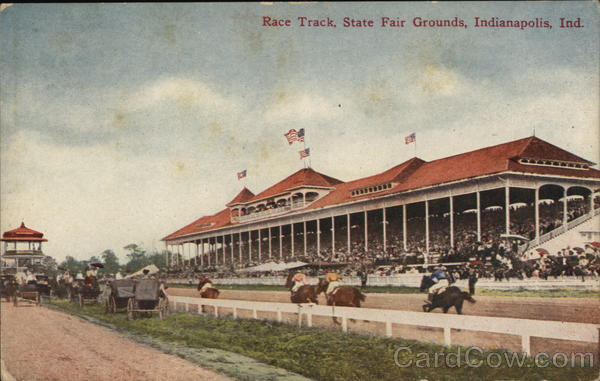 Race Track, State Fair Grounds Indianapolis