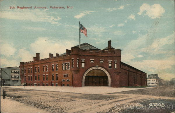 5th Regiment Armory Paterson New Jersey