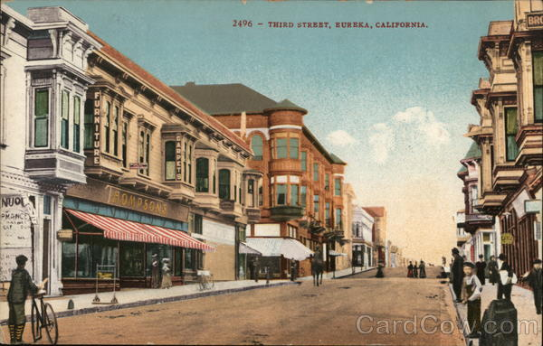 Third Street Eureka California
