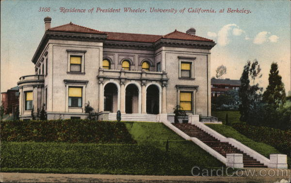 Residence of President Wheeler Berkeley California