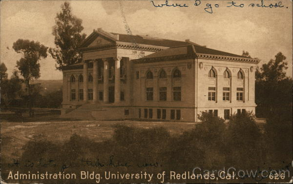 Administration Building, University of Redlands California