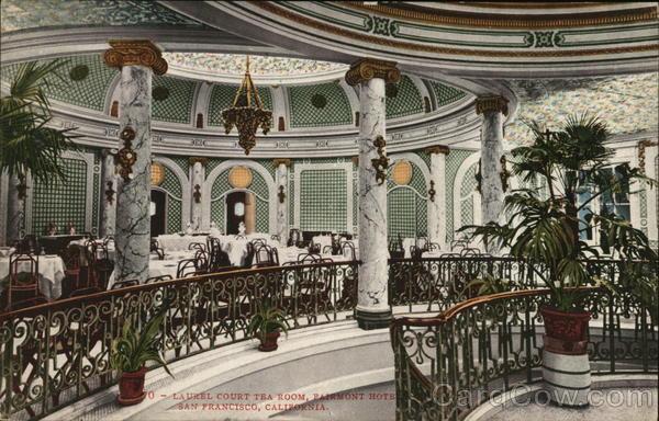 Fairmont San Francisco Tea Room