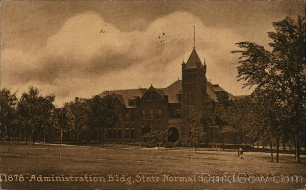 Administration Bldg, State Normal School Lewiston Idaho