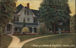 Home of James A Garfield