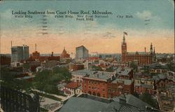 Looking Southwest from Court House