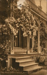 Rose Covered Porch