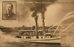 Steel Fireboat, David Campbell